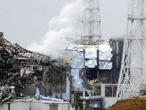 Foto divulgada pela Tokyo Electric Power CO mostra dano em reator 4