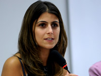 Manuela D'Ávila, deputada federal (Foto: Brizza Cavalcante/Agência Câmara)