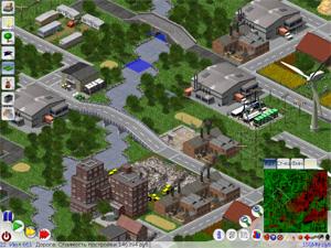 LinCity é um clone de 'SimCity' multiplataforma e gratuito (Foto: Reprodução)