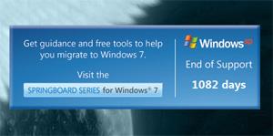 Contador do Fim do Windows XP