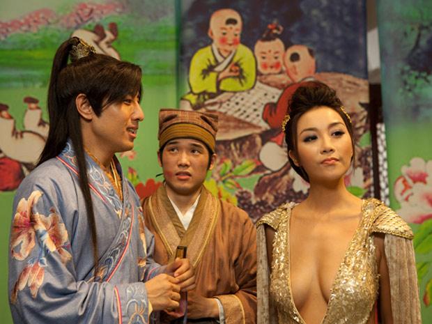 Cena do longa 'Sex and Zen 3D', exibido durante o 64º Festival de Cannes (Foto: Divulgação)