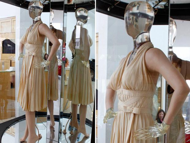 O vestido usado por Marilyn Monroe em 'O pecado mora ao lado' será leiloado (Foto: (Reuters/Reuters))