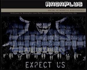 Anonymous criou rede social em resposta ao Google+, que barrou entrada do grupo na rede (Foto: Reprodução)
