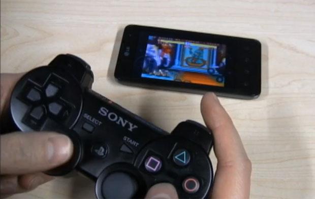 Aplicativo permite usar joystick do PS3 no celular Android (Foto: Reprodução)