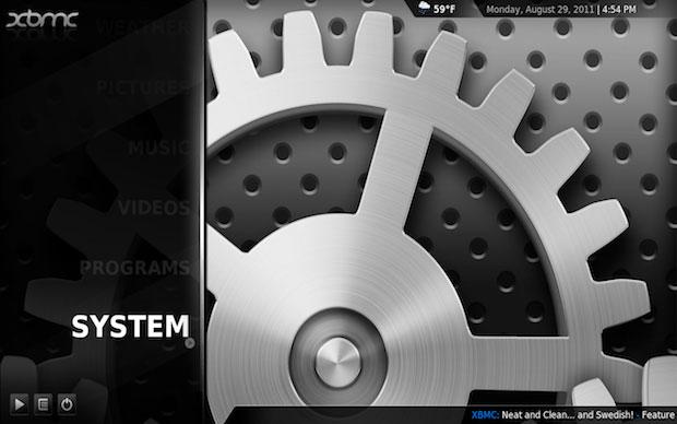 É possível criar configurar um computador para que funcione com uma central de multimídia dedicada instalando o XBMC como sistema operacional (Foto: Reprodução)