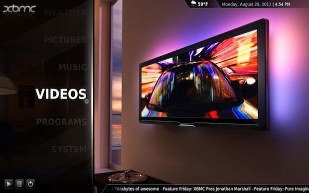 O XBMC oferece amplo suporte aos formatos de vídeos (Foto: Reprodução)