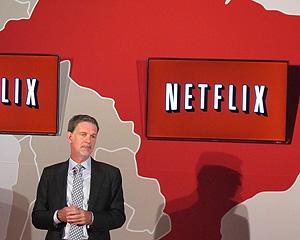 O diretor-geral do Netflix, Reed Hastings, lançou o serviço no Brasil nesta segunda (5) (Foto: Laura Brentano/G1)