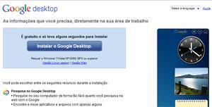 Google Desktop não será mais desenvolvido (Foto: Reprodução)