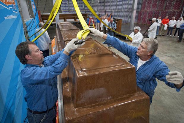 Sweet Amado, Chocolate com mais de 5 toneladas,  Brigadeiro