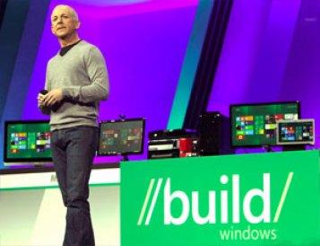 Steven Sinofsky durante apresentação do Windows 8 (Foto: Reuters)