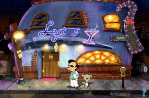 Cena de 'Leisure Suit Larry' em HD (Foto: Divulgação)