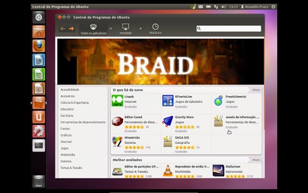 A Central de Programas do Ubuntu ficou ainda mais rápida e fácil de usar (Foto: Reprodução)