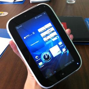 Tablet educacional da Intel (Foto: Amanda Demetrio/G1)