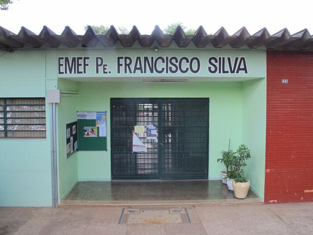 Fachada da escola onde aconteceu a agressão, em Campinas, SP (Foto: Raphael Prado/G1)