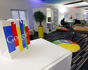 Novo escritório do Google em Paris, na França (Foto: AFP)