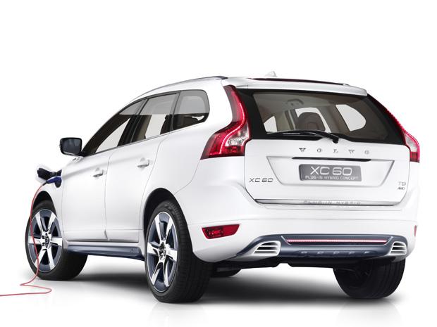 Volvo XC60 Plug-in Hybrid Concept tem novo motor a cimbustão, mais econômico (Foto: Divulgação)