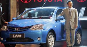 Toyota Etios (Foto: Arquivo/AP)