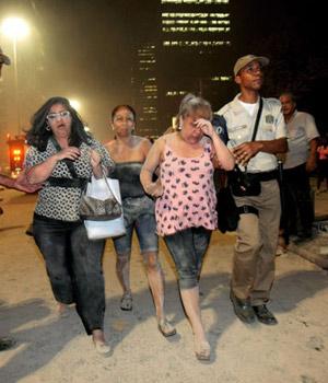 VÍDEO: reveja o plantão da Globo (Marcelo Piu/Agência O Globo))