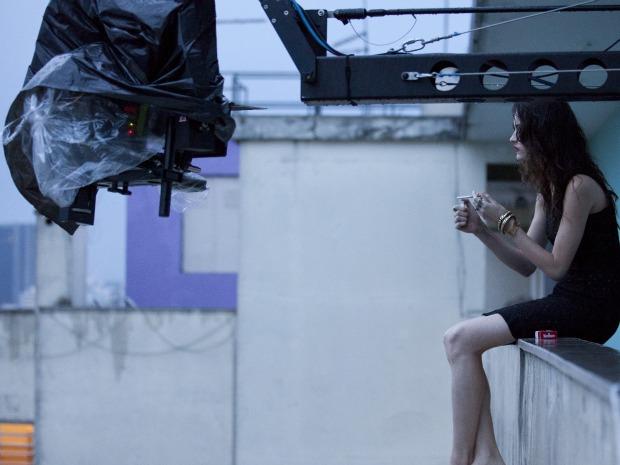 Gravações do curta-metragem DES. (Foto: Divulgação/ Henrique Araújo)