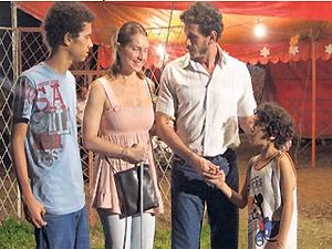 Letícia Spiller interpreta personagem cega no filme (Foto: Iramaya Rocha/Divulgação)