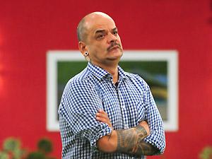 O mineiro João Carvalho, eliminado do 'BBB 12' (Foto: Frederico Rozário/TV Globo)