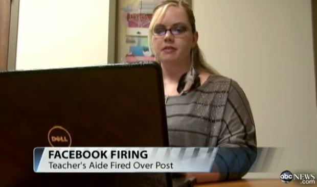 Kimberly Hester foi demitida por não fornecer senha do Facebook para chefe. (Foto: Reprodução)