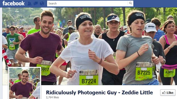 Zeddie Little ganhou o apelido de 'cara absurdamente fotogênico'.  (Foto: Reprodução)