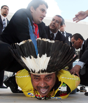 índio stf (Foto: Andre Dusek/AE)