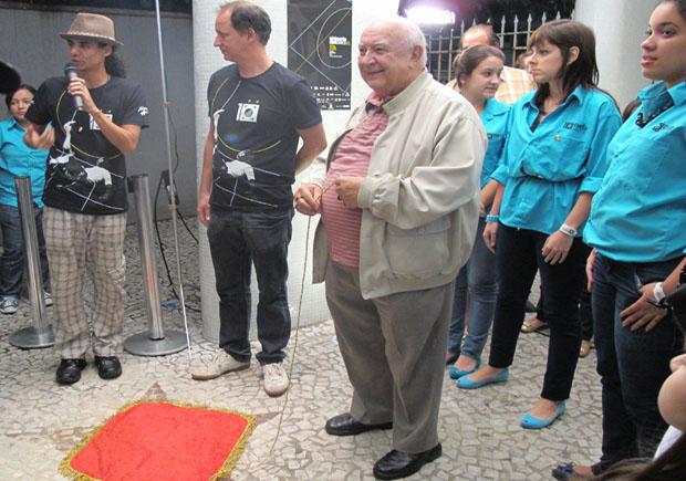 Sergio Mamberti no Curta Santos