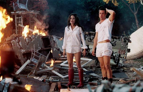 Rede Globo > filmes - Corujão: Brad e Angelina são casal também na ficção  em 'Sr. & Sra. Smith'