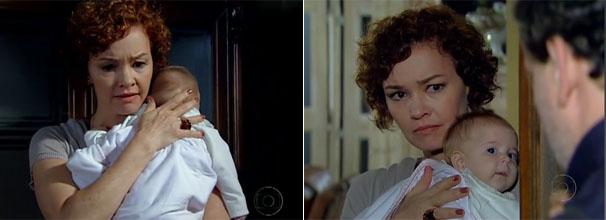 Esther (Julia Lemmertz) termina seu envolvimento com Guaracy (Paulo Rocha) (Foto: Divulgação/TV Globo)