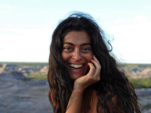 Na Bahia, Juliana Paes grava cenas de Gabriela (Foto: TV Globo/ Estevam Avellar)