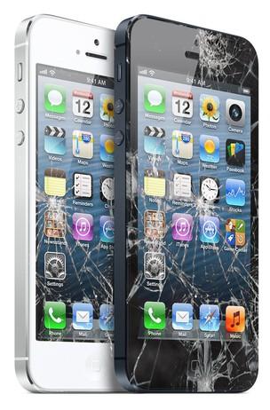 iPhones quebrados são comuns em todo o mundo (Foto: Reprodução/iRepair)