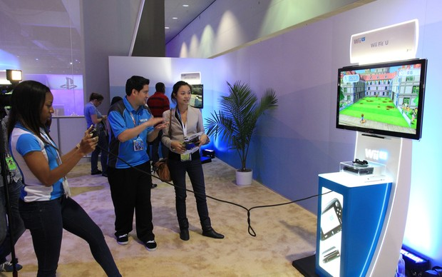 Wii Fit U (Foto: Léo Torres / TechTudo)