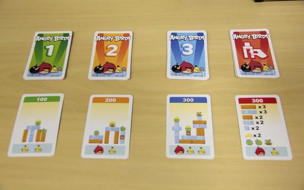 As cartas de missão em Angry Birds No Gelo mostram os desafios (Foto: TechTudo)
