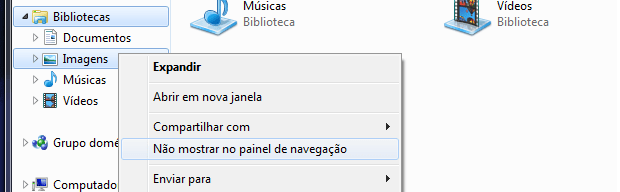 Biblioteca do Windows 7