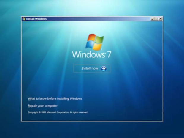 Tela inicial da instalação do Windows (Foto: Reprodução/TechTudo)
