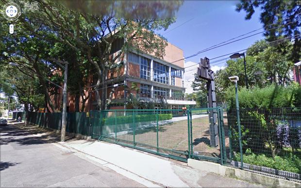 Saída de colégio (Foto: Reprodução/Gustavo Ribeiro)