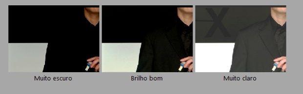 """Compare as imagens e ajuste o brilho clicando em """"Avançar"""" (Foto: Reprodução/Fox Xavier)"""
