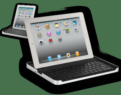 Case com Bluetooth para iPad 2, da Logitech. (Foto: Divulgação)