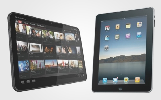 iPad 2 vs Motorola Xoom (Foto: Divulgação)
