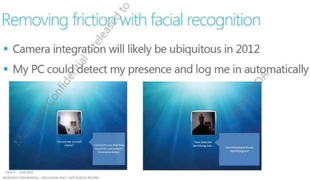 Tela com Kinect em ação no Windows 8? (Foto: Reprodução)