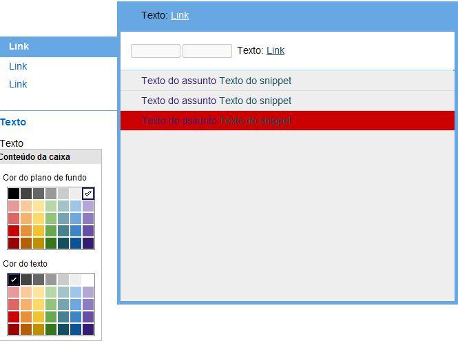 Criando temas no Gmail (Foto: Reprodução)