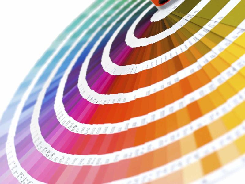 Escala de cores Pantone (Foto: Divulgação)