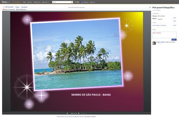 Make a Photo Slideshow (Foto: Reprodução/TechTudo)