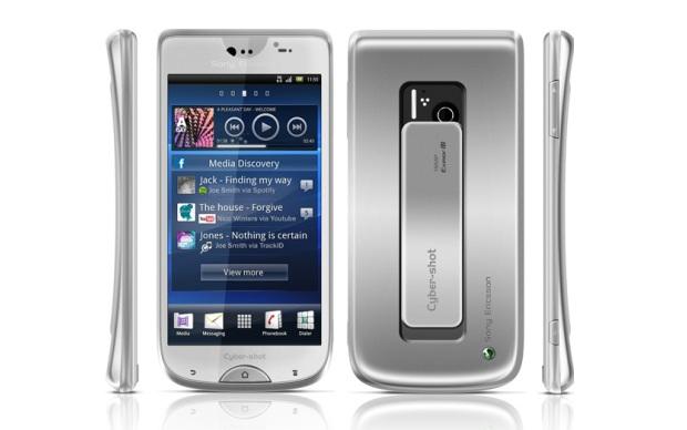 Suposto novo smartphone da Sony Ericsson. (Foto: Divulgação)