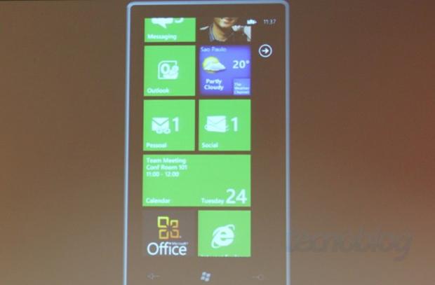 Windows Phone 7 no Brasil (Foto: Tecnoblog)