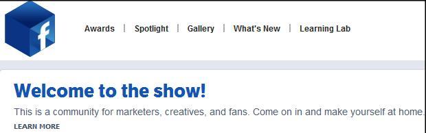 Menu superior do Facebook Studios (Foto: Reprodução/Fox Xavier)