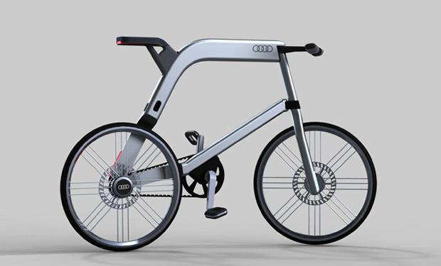 Bicicleta da Audi (Foto: Divulgação)