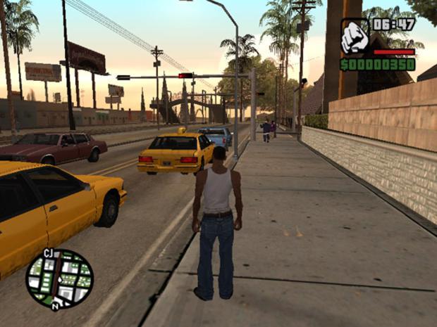 """""""Grand Theft Auto: San Andreas"""" de 2004  (Foto: Divulgação)"""